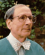 Dr Geoffrey Bush, photo by Paul Bush